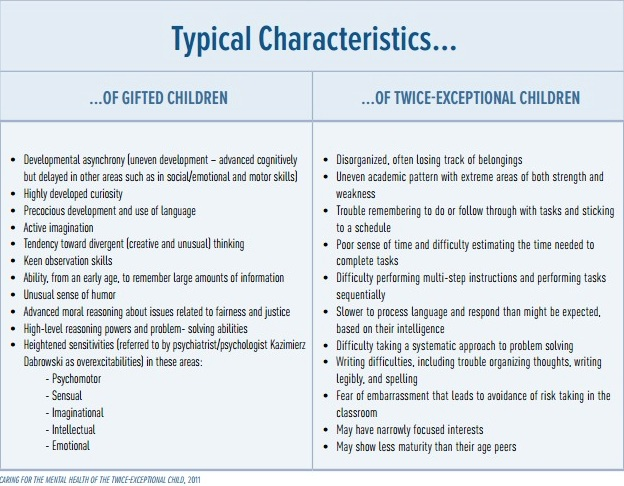 Twice Exceptional Kids Both Gifted And >> The Goldilocks Question How To Support Your 2e Child And Get It